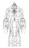 Turok Rage Wars Character Wireframe Lord of the Dead