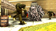 Turok 2 Seeds of Evil Enemies - Endtrail - Dinosoid (22)