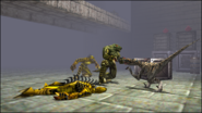 Turok 2 Seeds of Evil Enemies - Dinosoid Raptoid (18)