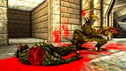 Turok 2 Seeds of Evil Enemies - Raptoid - Dinosoid (23)