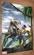 Turok Dinosaur Hunter Promotional art poster (3)