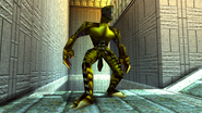 Turok 2 Seeds of Evil Enemies - Raptoid - Dinosoid (30)