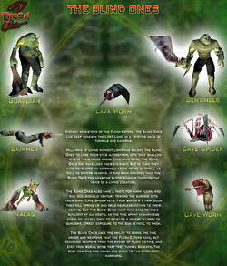 Turok 2 seeds of evil the blind ones by joshua fireseed-d70ko7r