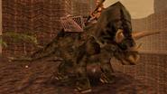 Turok Dinosaur Hunter Enemies - Triceratops