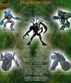 Turok 2 seeds of evil primagen troops by joshua fireseed-d70kpio