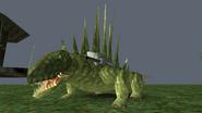 Turok Dinosaur Hunter Enemies - Dimetrodon Mech