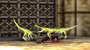 Turok 2 Seeds of Evil Enemies - Compsognathus - Dinosaurs (1)