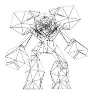 Turok Rage Wars Character Wireframe Elite Bio Bot