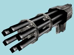 Turok Rage Wars Arsenal - Mini-Gun