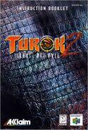 Turok 2 Seeds of Evil - Instruction Booklet
