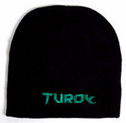 Large turok-limited-edition-black-hat-beanie-xbox-360-ps3-new