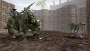 Turok Dinosaur Hunter Enemies - Triceratops (41)