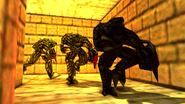 Turok 2 Seeds of Evil Enemies - Endtrail - Dinosoid (19)