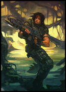 Turok with gun