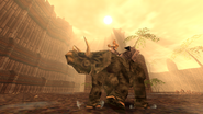 Turok Dinosaur Hunter Enemies - Triceratops (2)