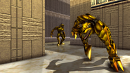 Turok 2 Seeds of Evil Enemies - Raptoid - Dinosoid (42)