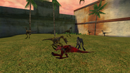 Turok Evolution Wildlife - Compsognathus (5)