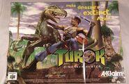 Turok Dinosaur Hunter Promotional art Poster (1)