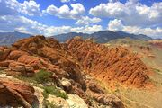 Calico basin red rock cumulus mediocris-1-