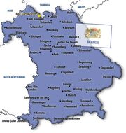 Map bavaria