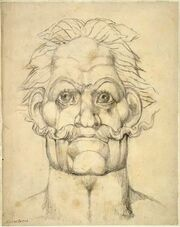 William Blake Visionary Head of Caractacus -contrast increased-1-