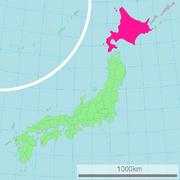 HokkaidoPrefMap
