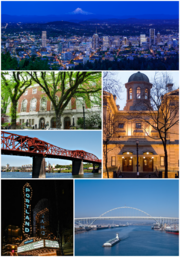 PDX, Oregon collage-1-