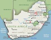 South-africamap