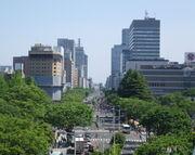 Higashi-Ni-banchō-dōri avenue 01-1-