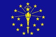 Flag of Indiana svg