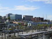 Everett Station - Everett skyline, 2014-1-