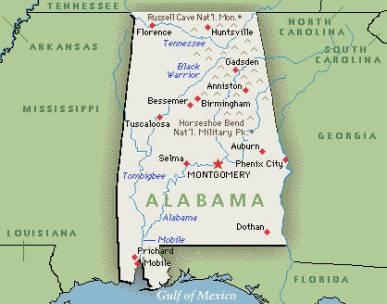 Image - Alabama map.jpg | Turtledove | FANDOM powered by Wikia