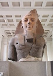 Statue of Ramesses II at the British Museum-1-