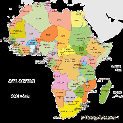 Africa GeopoliticalMap