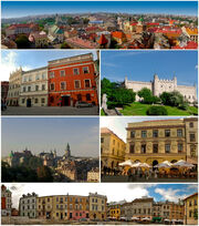 Collage of views of Lublin-1-