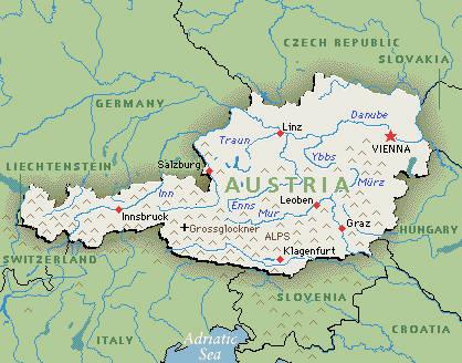 Austria Turtledove FANDOM Powered By Wikia - Graz austria map