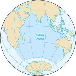 Indian Ocean-CIA WFB Map