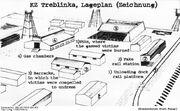 Bundesarchiv Bild 183-F0918-0201-001, KZ Treblinka, Lageplan (Zeichnung) II-2-