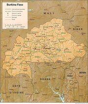 BurkinaFasoMap