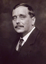 HG Wells by Beresford