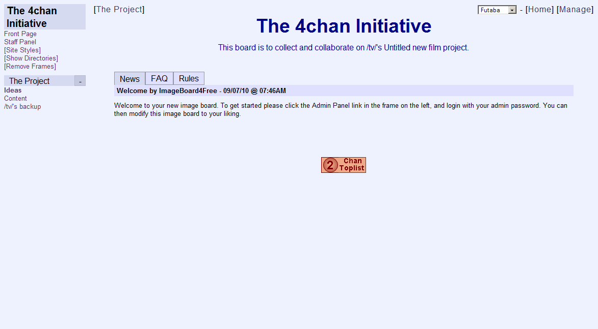 Image - The 4chan Initiative.png | /tv/ Wiki | FANDOM powered by Wikia