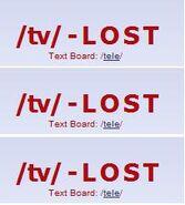 Tv - lost