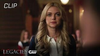Legacies Hope Is Not The Goal Scene The CW