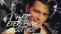 ►Klaus Mikaelson Hate everything about you SDSC