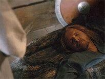 Mikael śpiący