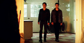 Damon and Enzo meet Markos 5x18