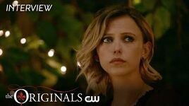 The Originals Season 5 - Riley Voelkel and Christina Moses Interview The CW