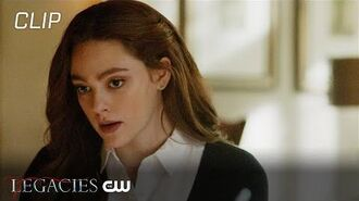 Legacies There's A World Where Your Dreams Came True Scene The CW