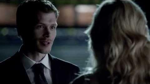 """Vampire Diaries 4x23 Graduation - Klaus Caroline """"He's your 1st love, i intend to be your last"""""""