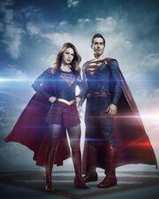 Supergirl-Superman promo